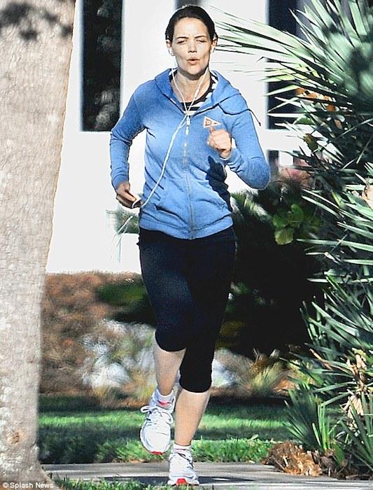 Katie Holmes workout