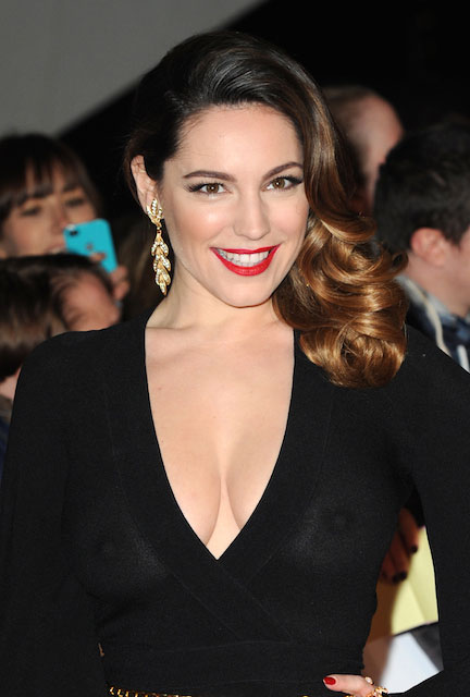English model, actress, TV presenter, Kelly Brook 2014 looks