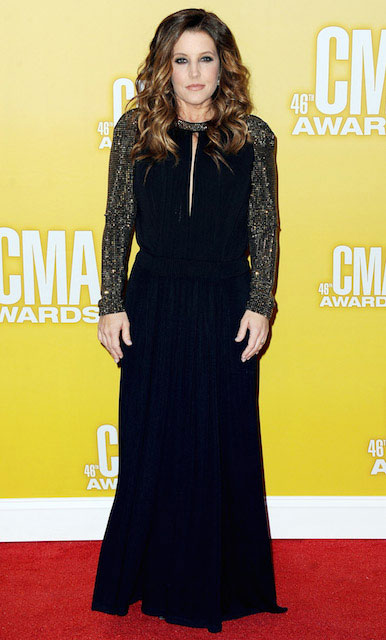 Lisa Marie Presley during 46th CMA Awards