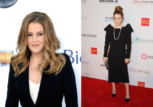 Lisa Marie Presley workout