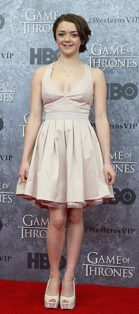 Maisie Williams weight
