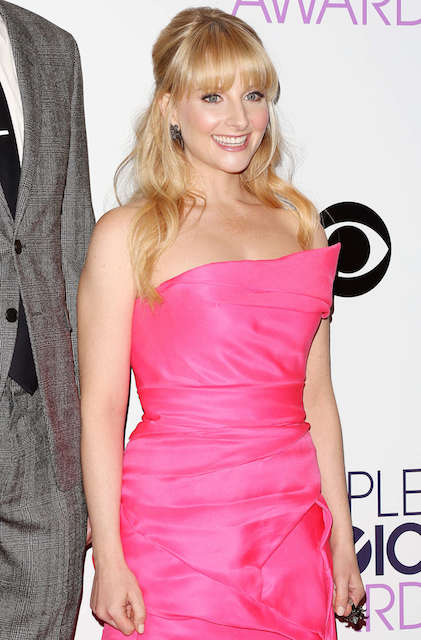 Melissa Rauch at 2014 Peoples Choice Awards