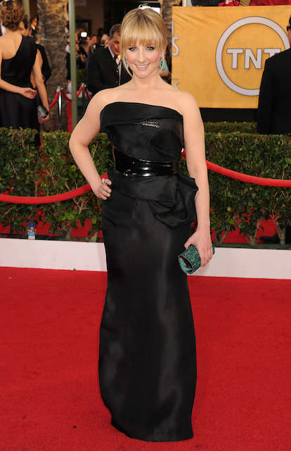 Melissa Rauch at 2014 SAG Awards
