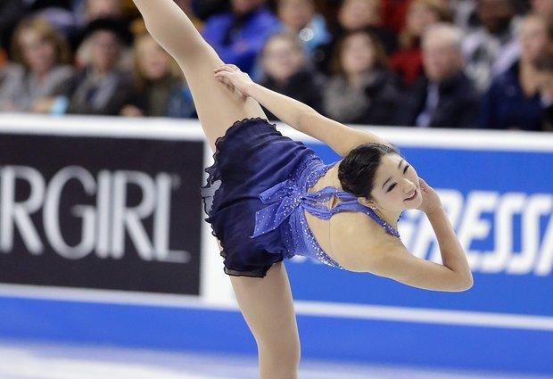 Mirai Nagasu skating