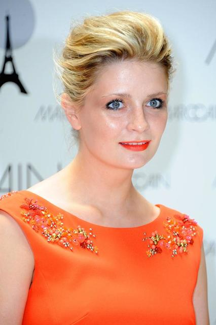 Mischa Barton during Mercedes Benz Fashion Week 2014 at Berlin for Marc Cain's Spring Summer 2014 Collection