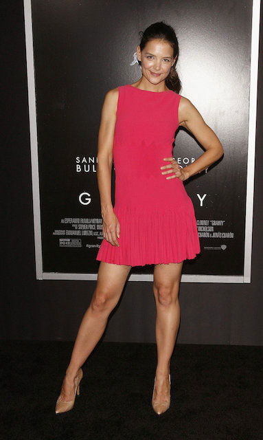 Katie Holmes at Gravity premiere in NYC