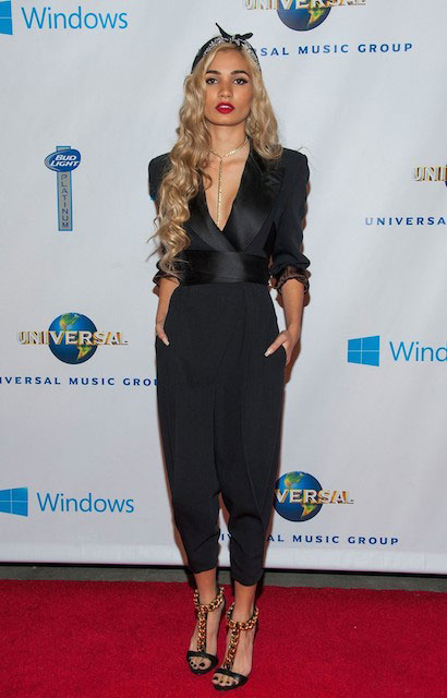 Pia Mia Perez at Universal Music Group 2014 Post Grammy Party in Lose Angeles