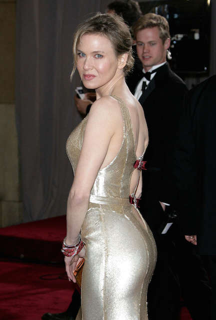 Renee Zellweger at Oscars 2013