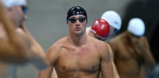 American swimmer, Ryan Lochte workout