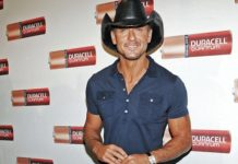 Tim McGraw workout