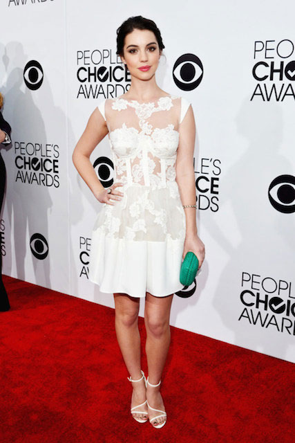 Adelaide Kane during People's Choice Awards 2014