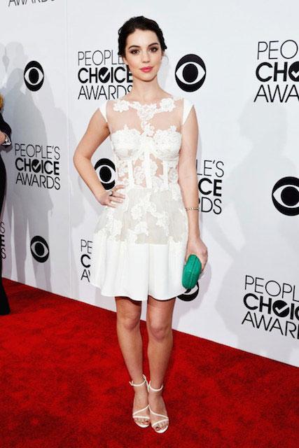 Adelaide Kane during People's Choice Awards 2014