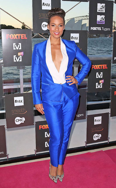 Alicia Keys height