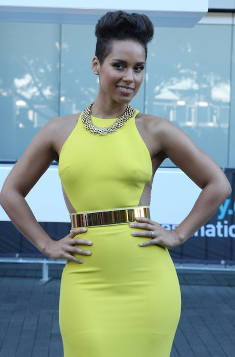 Alicia Keys workout routine and diet plan