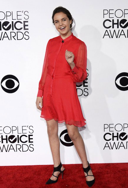 Bailee Madison at the 2014 People's Choice Awards in Los Angeles