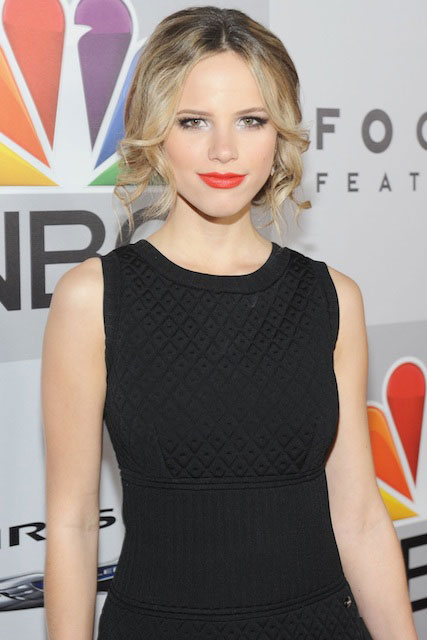 Halston Sage at NBC Universal St. Annual Golden Globe Awards After Party