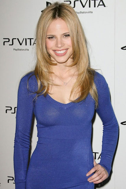 Halston Sage large breasts