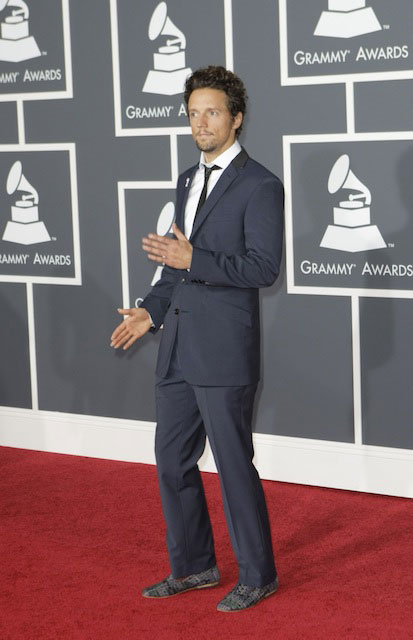 Jason Mraz at 2010 Grammy Awards