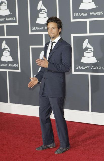 Jason Mraz at 2010 Grammy Awards