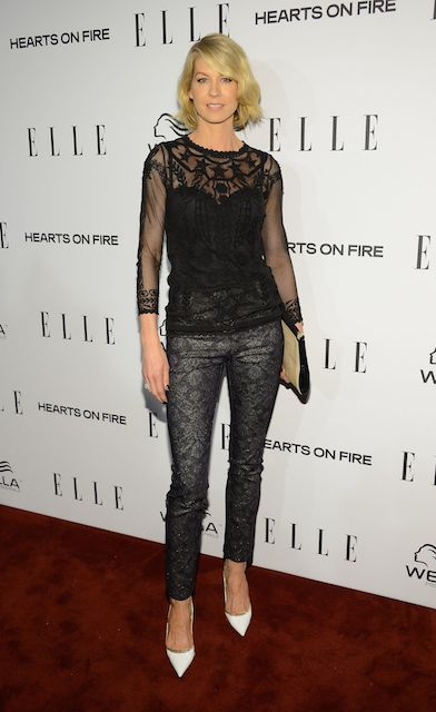 Jenna Elfman during 2014 Elle's Women in Television Celebration