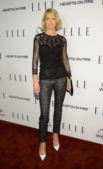 Jenna Elfman during 2014 Elle's Women in Television Celebration