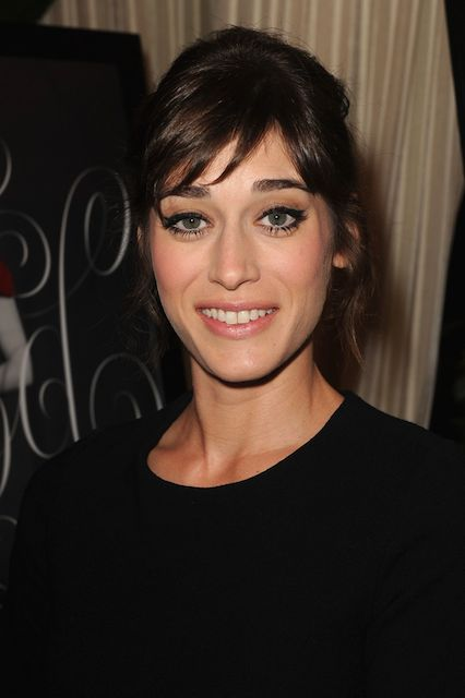 Lizzy Caplan during AFI Awards Luncheon in Beverly Hills in 2014