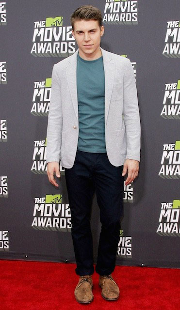 Nolan Gerard Funk during 2013 MTV Movie Awards