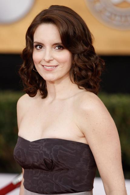 "The 46-year old daughter of father Donald Fey and mother Zenobia ""Jeanne"" Fey, 164 cm tall Tina Fey in 2017 photo"