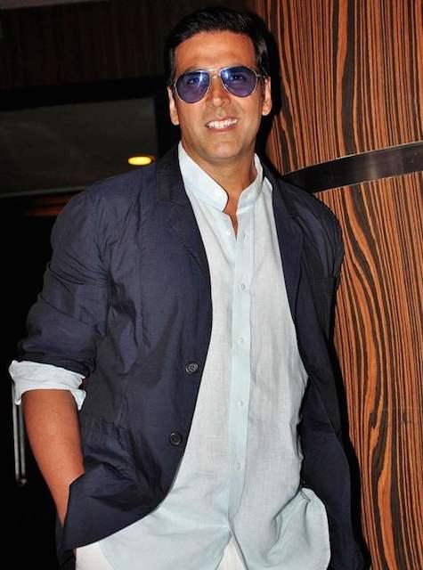 Akshay Kumar during Oh My God digital promo launch