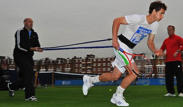 Andy Murray workout routine
