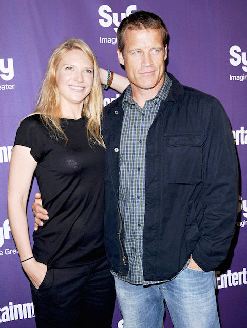 Anna Torv and her ex-husband Mark Valley