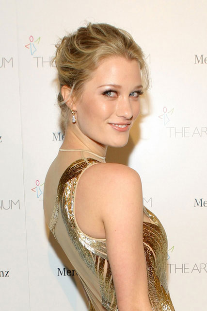 Ashley Hinshaw at the Art of Elysium's 7th Annual Heaven Gala in LA