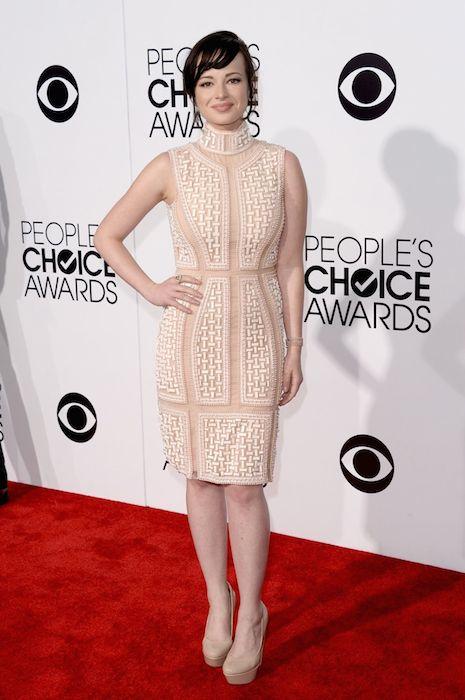 Ashley Rickards during 2014 People's Choice Awards