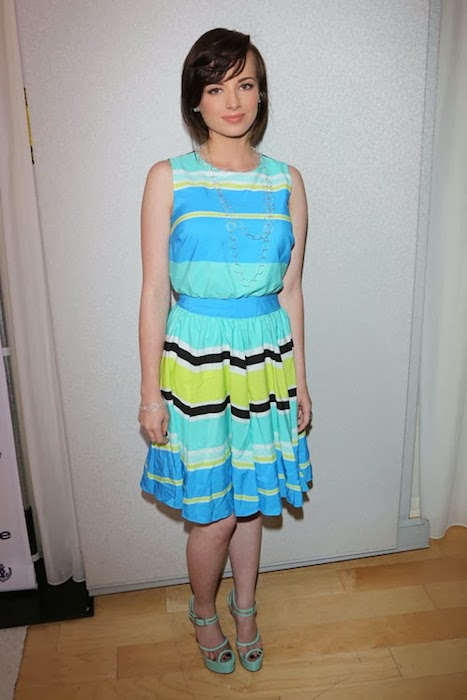 Ashley Rickards at InStyle Summer Soiree 2013