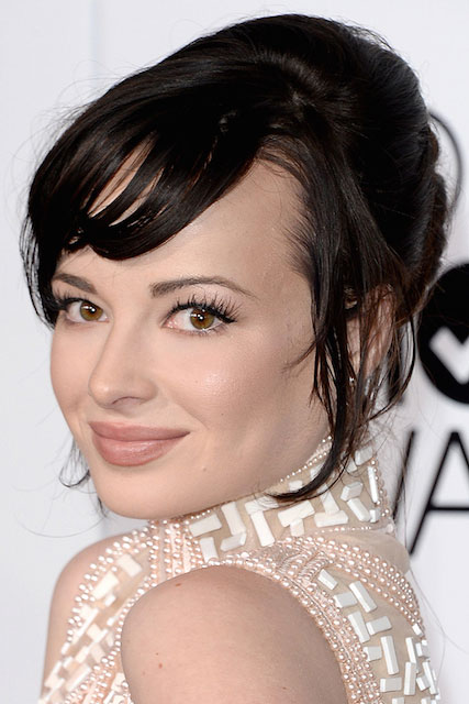 Ashley Rickards at People's Choice Awards 2014