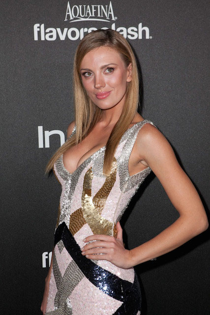 Bar Paly at HFPA 2014 Golden Globe Awards