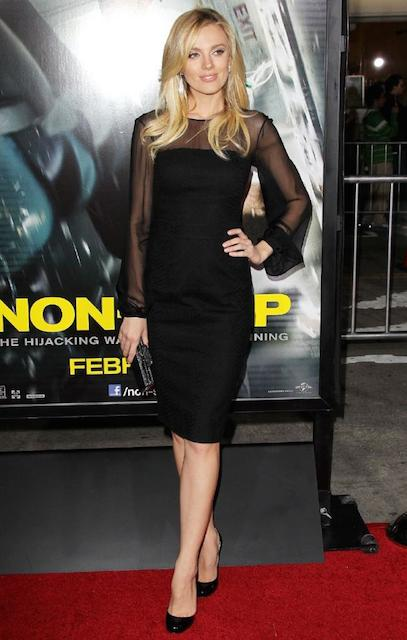 Bar Paly during Non Stop premiere in Los Angeles