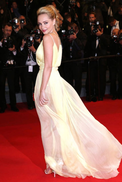 Beatrice Rosen during Cannes Film Festival 2014