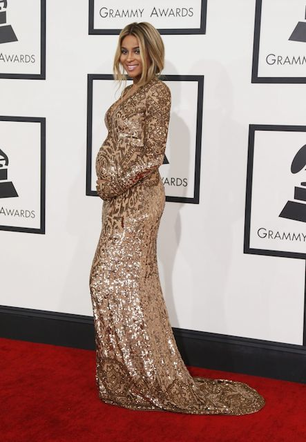 Ciara during 2014 Grammy Awards