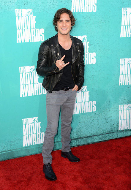 Diego Boneta during MTV Movie Choice Awards 2012.
