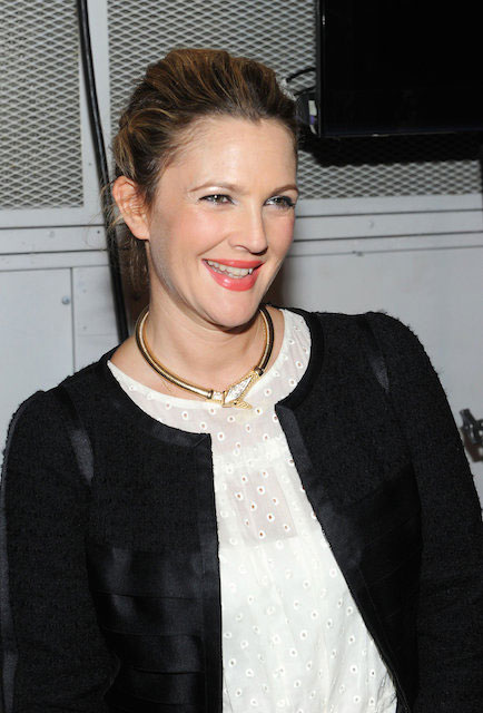 Drew Barrymore at Marc Jacobs Spring 2014 Fashion Show