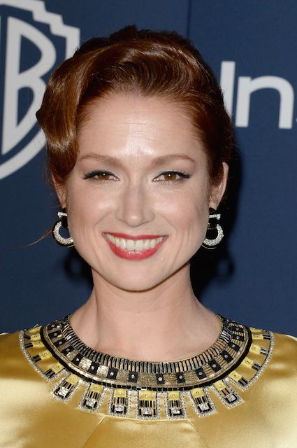 Ellie Kemper at InStyle Warner Bros. Golden Globes 2014 After Party