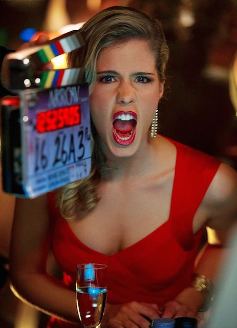 Emily Bett Rickards breasts
