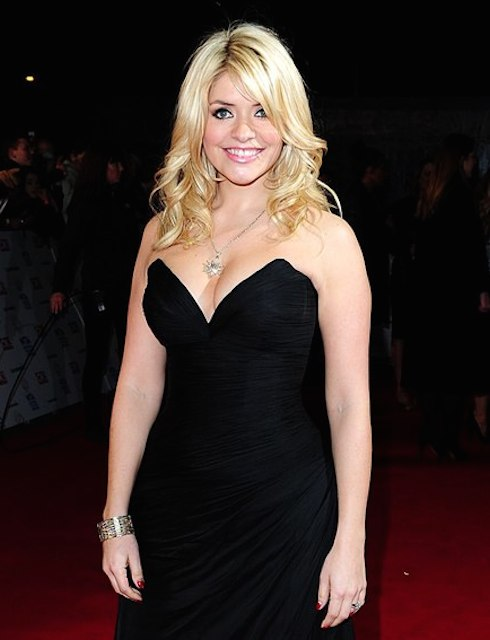 Holly Willoughby at UKTV National Television Awards 2014