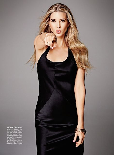 Ivanka Trump for Shape Magazine USA May 2014 issue