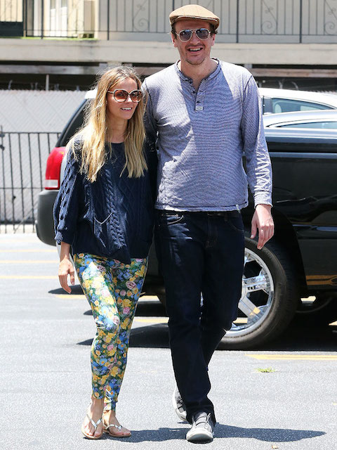 Jason Segel with hot, beautiful, sexy, Girlfriend Bojana Novakovic