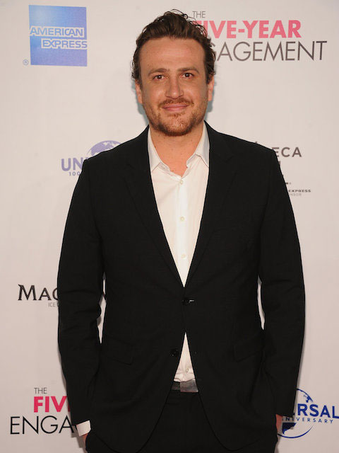 Jason Segel during the premiere of The Five-Year Engagement