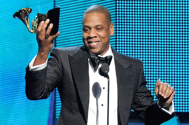 Jay-Z during Grammys 2014