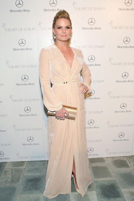 Jennifer Morrison at Art Elysium Heaven Gala in January 2014