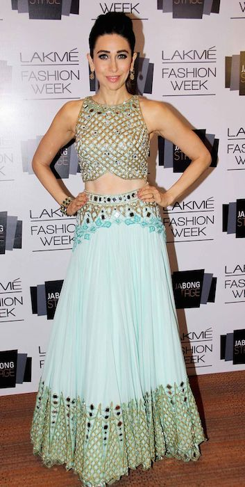 Karishma Kapoor at Lakme Fashion Week 2014